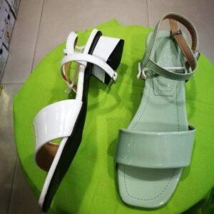 ladies sami heel belt sandel