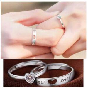 Love Promise Couple Finger Ring
