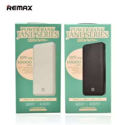 Remax RPP 119 10000mAh Power Bank Dual Output Fast Charging