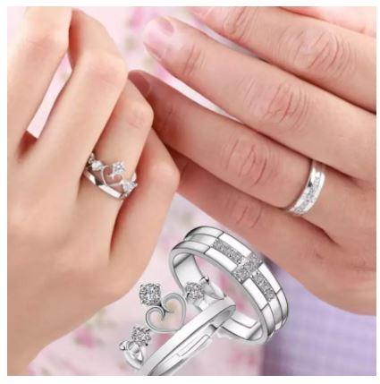 Finger Ring for Couple